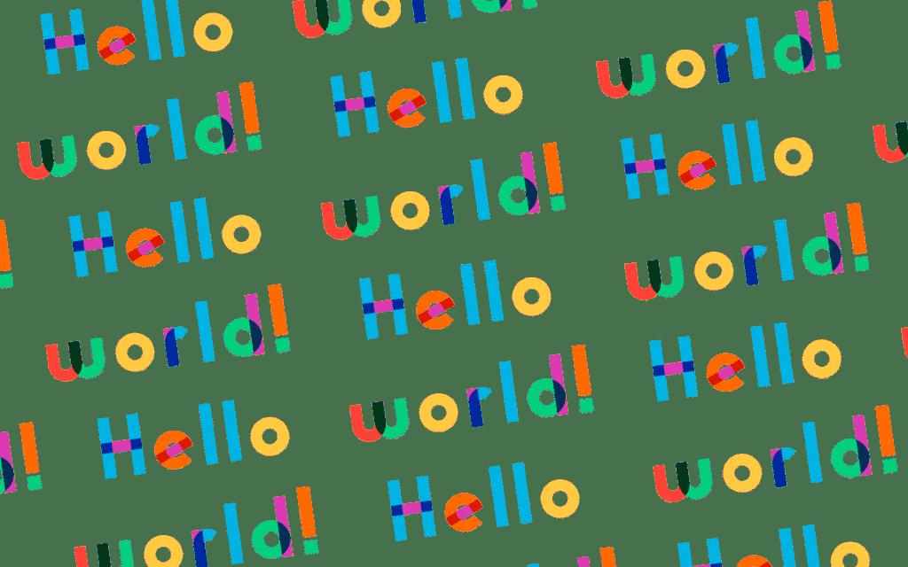 Hello world: Il primo articolo del blog di un creativo!